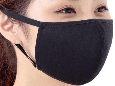 UVカットマスク・フィルターポケットなしブラック